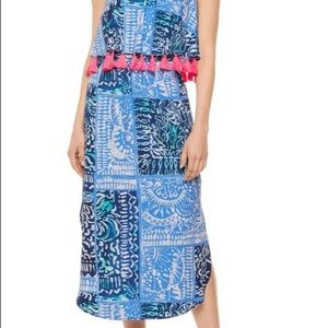 Lilly Pulitzer Meridian Midi Dress Size Medium NWT